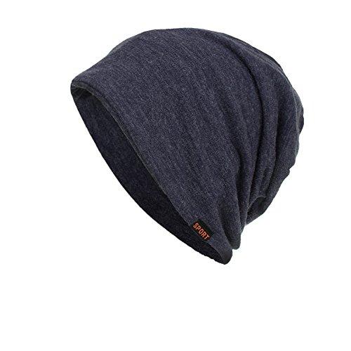 CUCUHAM Women Men Warm Baggy Weave Crochet Winter Wool Knit Ski Beanie Skull Caps ()