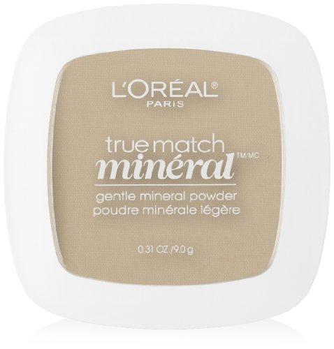 L'Oreal Paris True Match Mineral Pressed Powder, Light Ivory, 0.31 Ounce