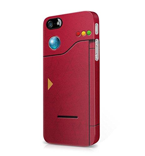 Pokemon GO Original Pokedex Hard Plastic Snap-On Case Cover For iPhone 5 / iPhone 5s / iPhone SE Photo - Pokemon Gaming