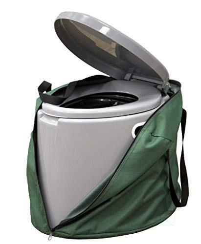 PLAYBERG Portable Travel Toilet for Camping and Hiking (Toilet with Case)
