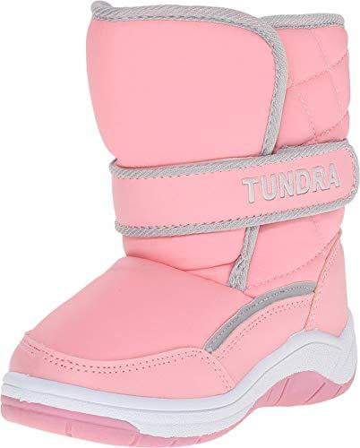 Tundra Snow Kids Boot (Toddler/Little Kid),Pink,5 M US Toddler