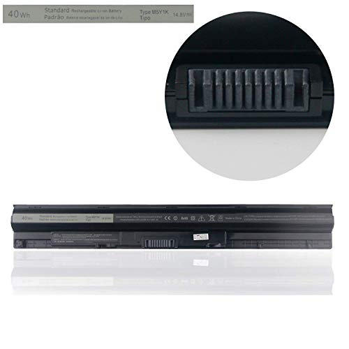 (Binger M5Y1K Replacement Laptop Battery Compatible With Dell Inspiron 3451 3551 5558 5758 M5Y1K Vostro 3458 3558 Inspiron 14 15 3000 Series 14.8V 40Wh 2700mAh)