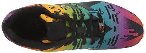 Colores Baskets Varios adidas UK hommes basses pour Noir Foncé Noir Foncé 8 Black Flux Zx B1a0xfnBq