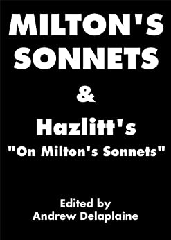sonnet 16 john milton essay Analysis- summary of the poem 'on his blindness' by john milton by website  contributors last updated may 22, 2018 16 share.
