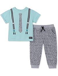 Baby Boys 2 Pieces Jog Pant Set