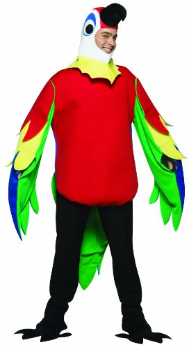 [Rasta Imposta Lightweight Parrot Costume, Multi-Colored, One Size] (Parrot Costume Wings)