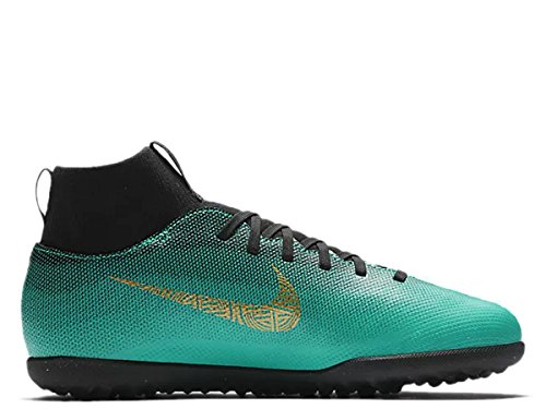 Vivid 6 Junior 390 Cleats Jade Aj3088 Gold Cr7 Superfly Soccer Club voetbalschoenen Clear Tf Nike d76EqzE