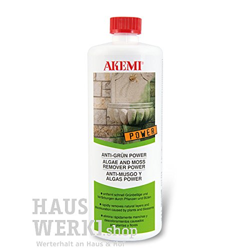 Akemi Algae and Moss Remover POWER Anti-Mousse et algues POWER - Akemi - 1 Litre