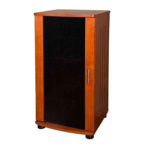 PLATEAU LSX-A 52 W 52-Inch Wood Audio Stand, Tall, Walnut Finish by Plateau