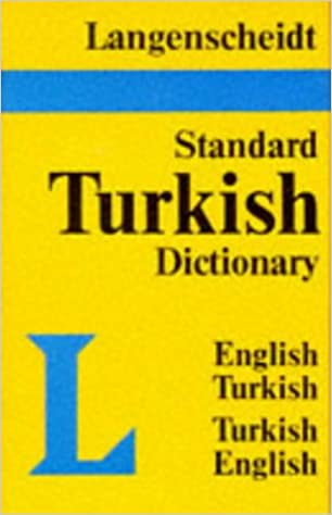 Book Standard Turkish Dictionary: English-Turkish Turkish-English, (Langenscheidt Standard Dictionaries): Turkish-English, English-Turkish