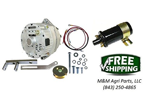 12 Volt Alternator Conversion kit & 12V coil Massey Ferguson TO30 Tractor from Unknown