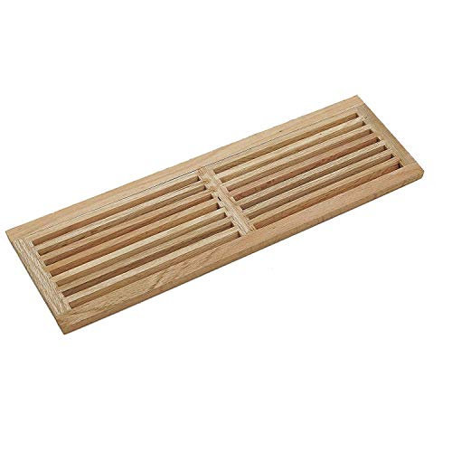(WELLAND Red Oak 32-Inch Hardwood Register Cold Air Return Wall)