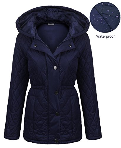 Navy All Weather Coat - 1