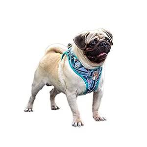 Arnés para perro de Air Mesh con estampado para mascotas, ligero ...