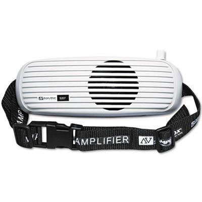 BeltBlaster PRO Personal Waistband Amplifier, 5 Watts, 1 1/2 lbs, Sold as 2 Each - Amplivox Personal Amplifier