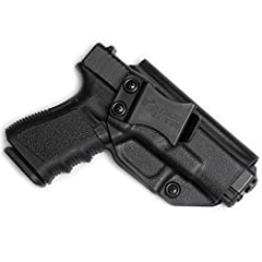 ⭐️ This holster only fits a Glock 17 19 19x 22 23 26 27 31 32 33 45. It WILL NOT fit these Glocks with any aftermarket attachments i.e. laser, flashlight, etc. ✔ ONE SIZE FITS MOST GLOCKS Toss your old box of obsolete holsters. If you own mul...