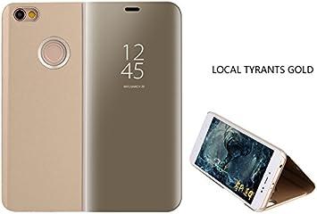 COVO® Funda para Xiaomi Mi A1 Espejo Flip Case Espejo Reflexión ...