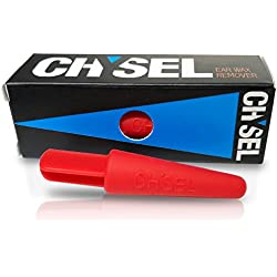 Chysel- Reusable Silicone In Ear Wax Cleaner for Women Men Kids- Ear Cleaning Remover Tool- Safely Customizes to Ear Shape with Removal- 5+ Year Use- 100% Satisfaction Guarantee!