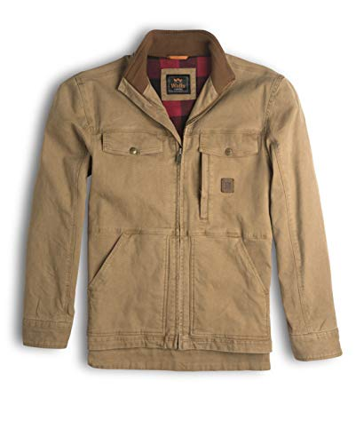 - Walls Men's Vintage Lined Cotton Duck Jacket with Stretch, Washed Pecan, Large