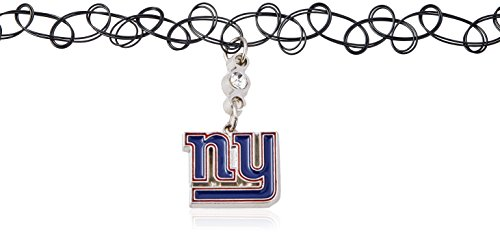 (Siskiyou NFL New York Giants Knotted Choker, Black,)