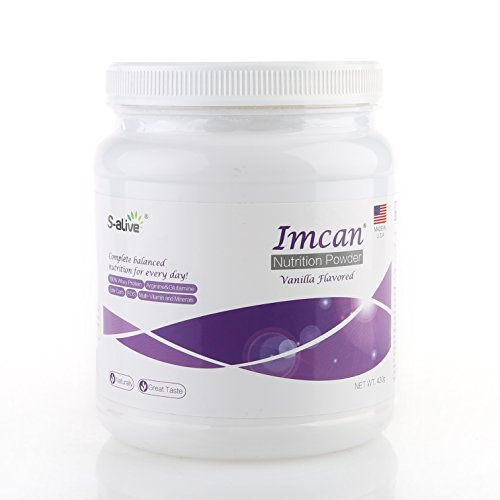 Imcan Complete Balanced Nutrition, Nutrient Dense Food to Enhance Protein and Calorie Intake, Supports Digestive and Immune System, 420g/Bottle