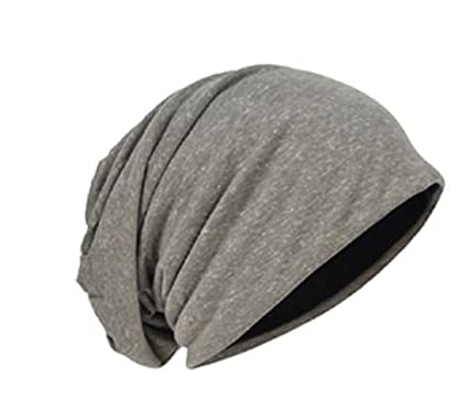Buy Imported  new Mens Jersey Slouchy Beanie Cap Long Baggy Cool Hip-hop  Skull Cap Soft Thin Summer Hat Online at Low Prices in India - Amazon.in f4314b3f84a
