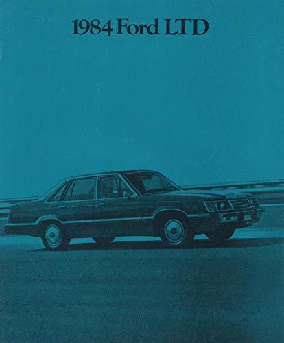 - 1984 FORD LTD, LTD BROUGHAM, LTD LX SEDANS & LTD WAGON PRESTIGE VINTAGE COLOR SALES BROCHURE - 032 Rev. 2/84 - USA - EXCELLENT ORIGINAL !!