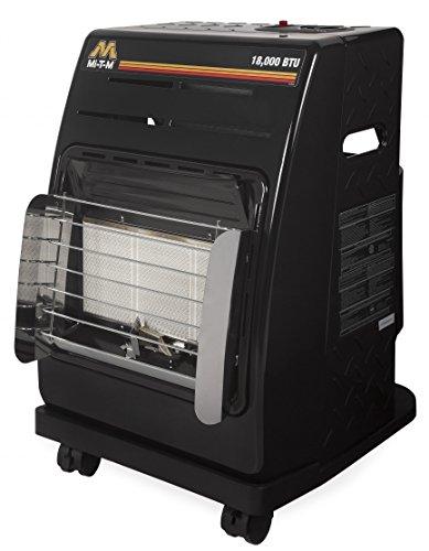 Mi-T-M MH-0018-0D10 Propane Cabinet Utility Heater, 18000 BTU MH-0018-0M10