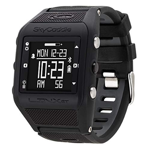 (SkyCaddie Golf Linx GT GPS Range Finder Watch Black)