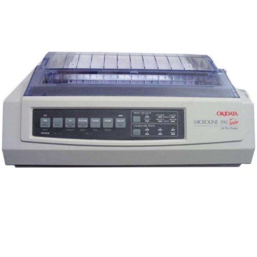 Oki Data - Oki Microline 390 Turbo Dot Matrix Printer - 24-Pin - 390 Cps Mono - 360 X 360 Dpi - Parallel, Usb 'Product Category: Printers/Dot Matrix Printers'