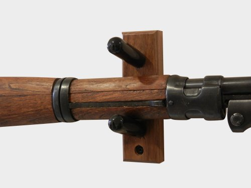 Horizontal Wall Mount For An Antique Rifle Made In The
