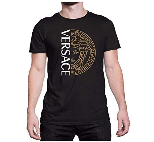 Versace T-shirt, Versace Medusa Shirt, Versace Tshirt For Men Women, Versace Inspired, Versace Shirt, Versace Clothing, Designer (Versace Tshirt Men)