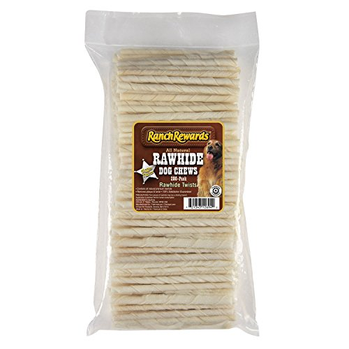 - Ranch Rewards Natural Rawhide Twists - Satisfying Chews For Dogs - 5