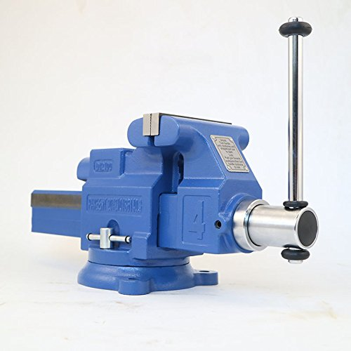 [해외]Max Orbit 퀵 릴리즈 헤비 듀티 엔지니어 벤치 바이스 2 톤 세미 정밀 / Max Orbit Quick Release 6 Inch 150mm Heavy Duty Engineers Bench Vise 2 Ton Semi Precision (4 inch)