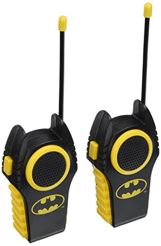 Warner Brothers Dc Comics Batman Walkie Talkie  Styles May Vary