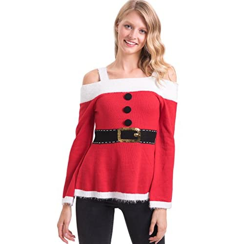 Hot For G and PL Women's Christmas Funny Sweaters for cheap