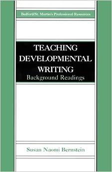Book Teaching Developmental Writing: Background Readings