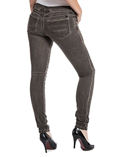 Timezone PaulaTZ  fashion pants-Pantalones Mujer Marrón (Warm Brown 6178)