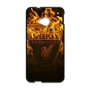 Happy Liverpool Football Club Cell Phone Case for HTC One M7
