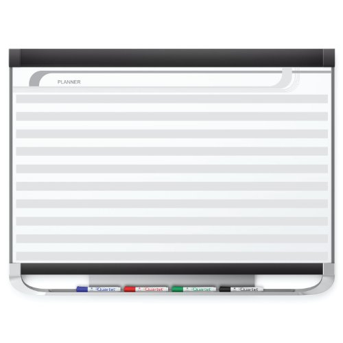 Quartet Prestige 2 Magnetic DuraMax Porcelain Planning System, 4' x 3' Board with Horizontal Lines (PP143P2) by Quartet