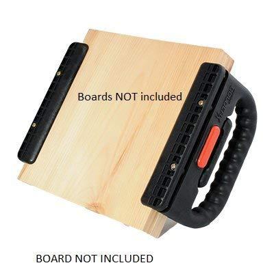 The BolderX Board Holder for Breaking Boards