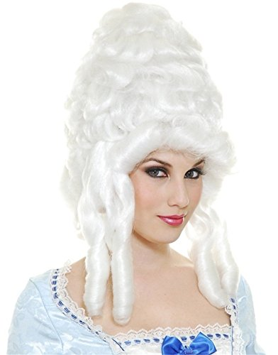 Ladies Colonial Wig (Colonial Woman Wig Costume Accessory)