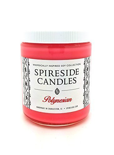Polynesian ® Candle - Spireside Candles, Disney Resorts Candles, Scented Soy Candle, 8 oz Jar