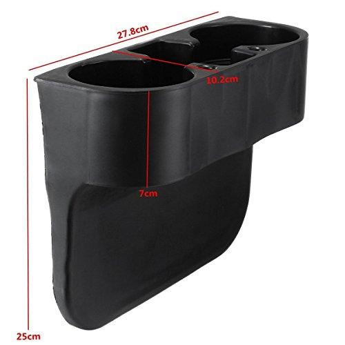 (FidgetFidget Seat Seam Wedge Front Cup Holder for BMW 1 3 Series E30 E36 E39 E46 E60 E90 Z4)
