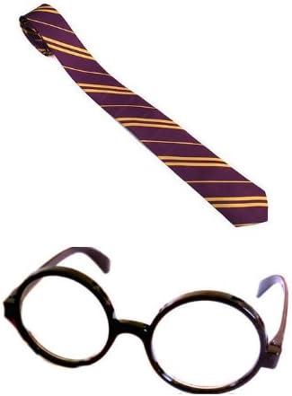 Gafas y corbata de Harry Potter para niño mago Hogwarts: Amazon.es ...