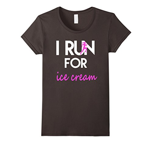 i run for ice cream shirt - 7