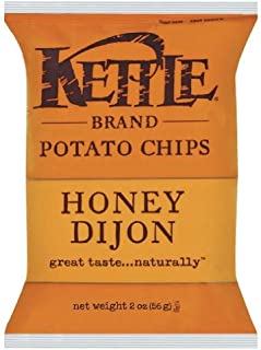 product image for Kettle Brand Potato Chips - Honey Dijon Chips, Dijon mustard + Honey. 5-ounce bag (Pack of 2)