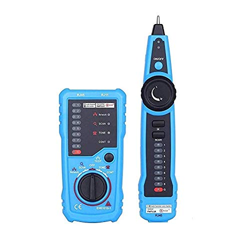 Nstcher BSIDE FWT11 Handheld RJ45 RJ11 Network Telephone Cable Tester Wire line Tracker from Nstcher Accessories