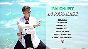 Tai Chi Fit IN PARADISE - ALL 2018 with David-Dorian Ross (YMAA) Beginner Tai Chi on the beach DVD ** Bestseller** by YMAA