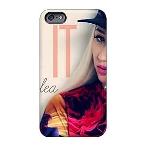 Icase88 Apple Iphone 6s Plus Shock-Absorbing Hard Phone Case Allow Personal Design Beautiful Iggy Azalea Series [ARh522OTON]